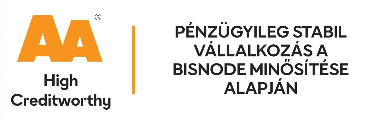 Pénzügyi AA minősítést ért el az AMAKSZ Kft.!